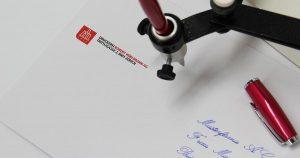 Handschrift Roboter Sophie