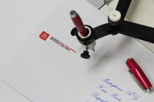 Handschrift Roboter Technik
